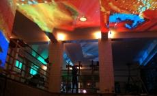 Lichtinstallation FH Aachen