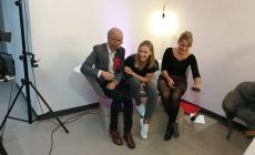 Talk aus der Wanne, Andreas Schneider und Adriane Bickenbach