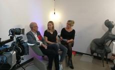 Andreas Schneider und Adriane Bickenbach, Talk aus der Wanne