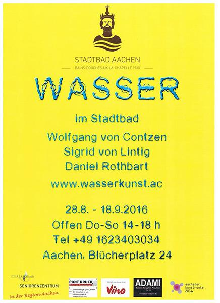 Ausstellung Wasser Flyer 01