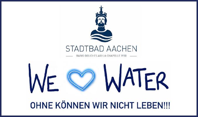 Bild zum Livestream des Stadtbad Aachens zum Weltwassertag 2020