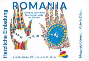 Grafik Ausstellung ROMANIA