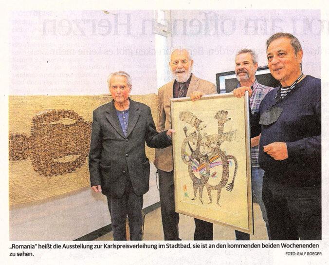 """Foto Presseartikel """"Romania"""" ist zu Gast im Aachner Stadtbad - Ralf Roeger"""