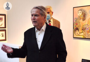 Wolfgang Becker spricht über ROMANIA - Ausstellung im Stadtbad Aachen